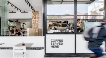 savour cafe in new farm, brisbane